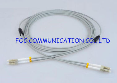 China LC-LC Fiber Optic Patch Cord Multimode Armored Fiber Optic Cable factory