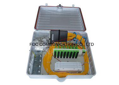 China Ultra Violet Protective Wall Mount Fiber Enclosure , Fiber Optic Enclosures Outdoor distributor