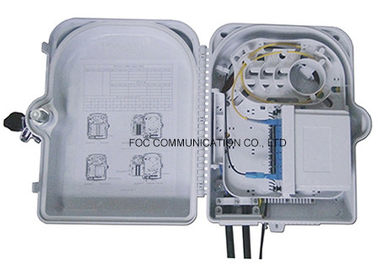 China High Resistance 16 Core Fiber Optic Termination Box For Wide Area Networks factory