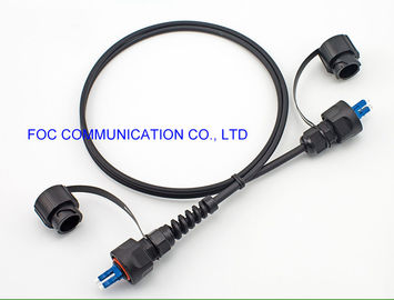 China FTTA Cable Assemblies Fiber Optic Patch Cord LC/UPC With ODVA Connectors TPU Jacket factory