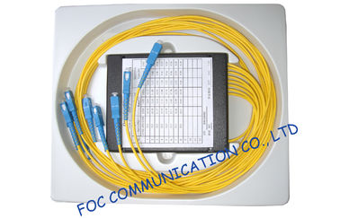 China Compact Fused Biconical Taper FBT Coupler , optical fiber coupler for LAN Systems factory
