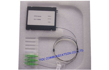 China High Isolation 8 channel multiplexer , dwdm module 250um 900um 2mm 3mm factory