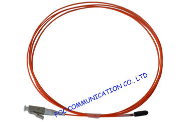 China Low Loss Alignment LC Fiber Optic Patch Cord with Precision Ceramic Ferrule​ factory