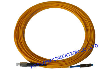 China MU Fiber Optic Patch Cord For Fiber Optc Devices , Simplex patch cord 2.0mm factory