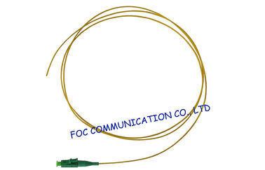 China LC / APC 900um Tight Buffered FTTH Fiber Optic Pigtail 9 / 125um for CATV and WAN factory