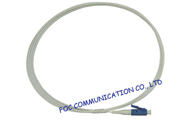 China High Speed Transmission Rate G.657 Fiber Optic Pigtail LC / PC 900um SM For FTTH factory