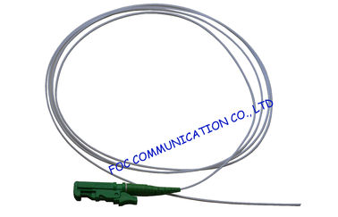 China FTTX OFNP Optical Fiber Pigtail SM , 0.9mm Tight Buffered E2000 Pigtail  distributor