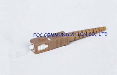 buy Fast Fiber Optic Connector SC 2.0mm  / CATV and WAN multimode fiber connectors  online manufacturer