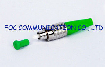 China Simplex FC / APC Optical Fiber Connector For Communication Network distributor