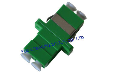 China LC / APC Duplex Fiber Optic Adapter Low Insertion Loss For Fiber Optic Devices distributor