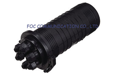 China Erect Type 6 Ports fiber optic splice closures 144Core Bunchy Fan Out distributor