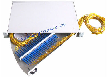 China Rack Mount Rotary Fiber Optic Patch Panel distributor