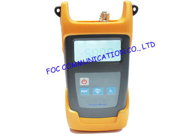 China User self - calibration Handheld fiber optic power meter up to 80dB LC Connector distributor