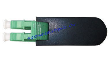 China Fiber Optics Patch Cords Loopbacks SM LC / APC Low Insertion Loss For CATV and WAN factory