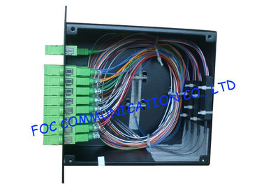 China LGX Type 1 X 32 Optical Fiber Splitter PLC High Reliability And Stability factory