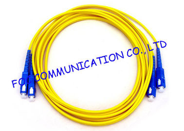 China Durable Fiber Optic Patch Cord SC For Telecommunication Networks factory
