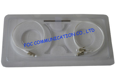 China LC Fiber Optic Coupler Multimode Mini Type 0.5m with 0.9mm Tube For FTTX factory