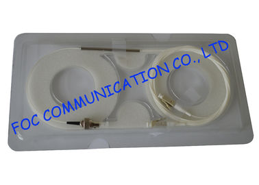 China Multimode Fiber Optic Fused Coupler 1 × 2, FC / LC connector factory