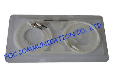 China Multimode Steel Tube Fiber PLC Splitter 1×2 With 62.5um Corning Fiber distributor