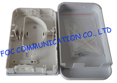 China Plastic Fiber Optic Terminal Box Wall Mount Fiber Cable Protection Pigtail Loaded distributor